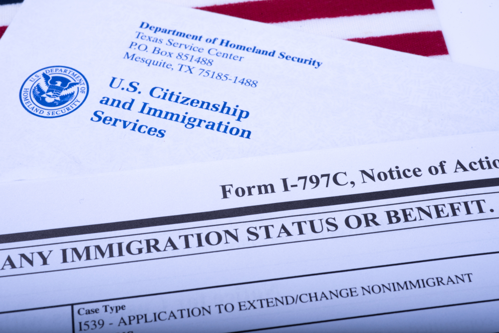 USCIS notice of action