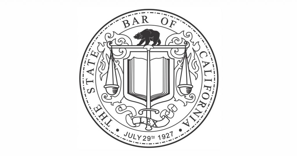 State Bar of California Logo.