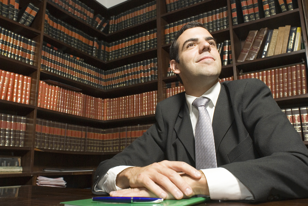 lawyer staring at the future