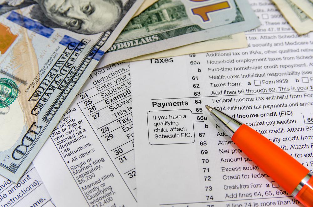 2020 Individual tax form